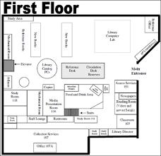 library floor plan design library floor plans cameron university
