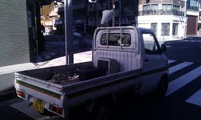 kei truck tokyo anaba the private trash collection industry in japan