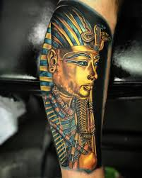 tutankhamun u0027s death mask best tattoo design ideas