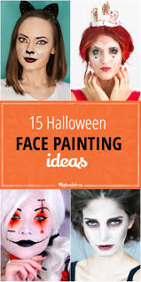15 halloween face painting ideas tip junkie