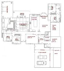 One Story Cottage Plans Single Story House Plans Cottage House Plans