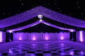 wedding backdrop set up white starcloth starlight wedding backdrop hire humphries av