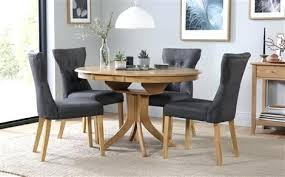 slate dining table set dining table chairs set round extending dining table 4 chairs set