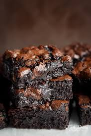 best fudgy cocoa brownies cafe delites
