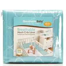 breathable mesh crib liner 310972432