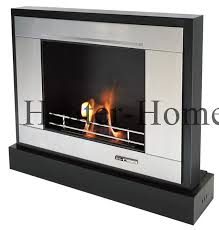portable fireplace vioflame vfc 3100r ethanol fueled portable stainless steel fireplace