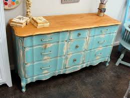 Decorating Dresser Top by Furniture Beautiful Blue Dresser As Furniture For Bedroom