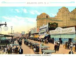 ocean city nj halloween parade atlantic city boardwalk rolling chair parade circa 1920s new