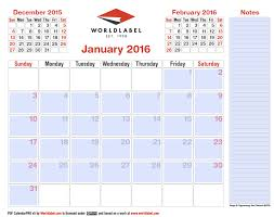 2016 editable pro fillable pdf calendar template worldlabel blog