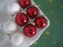 how to creatively store and pack ornaments