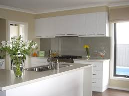 cheap white kitchen ideas with gray backsplash white gloss kitchen