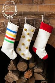 Christmas Stocking Decorations Hello Wonderful 8 Cheerful Diy Christmas Stockings