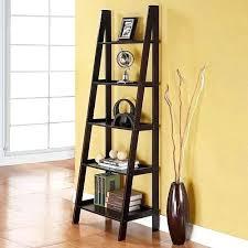 Diy Shelf Leaning Ladder Wall by Marvelous Ladder Shelf Diy A Frame Ladder Bookshelf Leaning Ladder