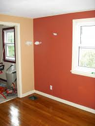 Accent Colors For Tan Walls by Orange Accent Wall Living Room Simple Home Decoration Kitchen