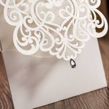 aliexpress com buy luxury white cut out paper lace wedding
