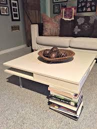ikea hacks coffee table diy ottoman coffee table ikea hack a purdy little house