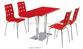 european style fast food restaurant dining table and chairs