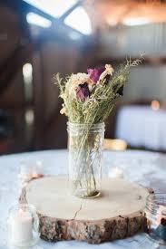 wood centerpieces wood cookie centerpieces rustic wedding decor popsugar home