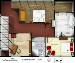 portfolio by nicole elsholz at coroflot com oscar de la renta second floor plan autocad drafted photoshop rendered