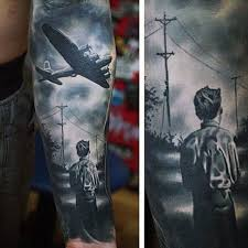 70 ww2 tattoos for men memorial military ink design ideas