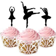 ballerina cake toppers shop ballerina cupcakes on wanelo