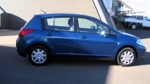 nissan tiida 2008 hatchback 2007 nissan tiida c11 my07 st blue 4 speed automatic hatchback