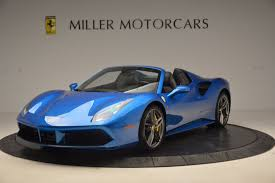 ferrari 488 custom 2017 ferrari 488 spider stock 4436 for sale near greenwich ct