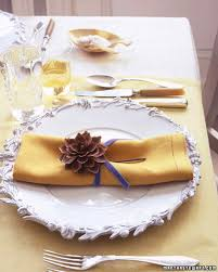 Pine Cone Wedding Table Decorations Pinecone Napkin Holder Martha Stewart