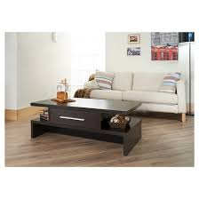 Inside Homes Tiki Two Side Open Coffee Table Espresso Homes Inside Out
