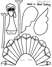 preschool turkey craft printable thanksgiving crafts for