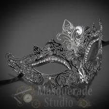 silver masquerade masks for women metal mask ebay