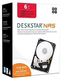 drive bureau hgst 6 tb 3 5 inch 7200rpm sata nas disk drive silver amazon