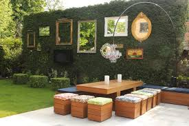 Garden Wall Decoration Ideas Garden Wall Decoration Ideas Patio Shabby Chic Style With Outdoor