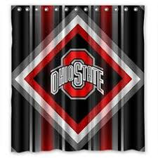 Ohio State Curtains Homely Design Ohio State Curtains Shining Gold Dressed Trees With