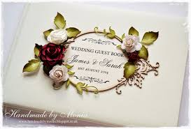 handmade by monia new frame new wedding guest books
