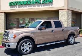 Ford F150 Truck Wraps - believe it or not this is not paint full color change wrap on an