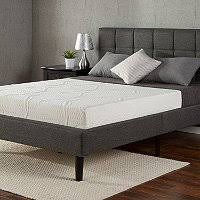 night therapy 10 inch memory foam rv mattress short queen