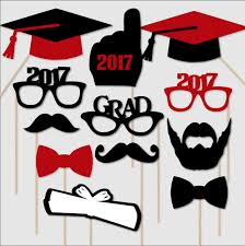 2017 graduation photo booth props graduation photobooth