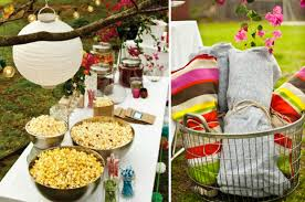 host an outdoor movie night at home with kim vallee