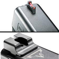 tti ultimate fiber optic sights set for glock taran tactical