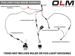 olm fog with high beam harness 2013 fr s ft 86 speedfactory