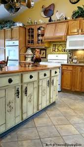 Kitchen Island Makeover Ideas Kitchen Island Makeover Duck Egg Blue Chalk Paint R Kitchen