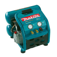 makita 4 2 gal 2 5 hp portable electrical 2 stack air compressor