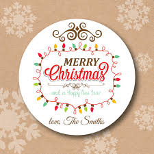 new year sticker christmas sticker modern merry christmas and happy new year