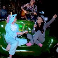 Miley Cyrus Backyard Sessions Download Watch Miley Cyrus U0026 Ariana Grande U0027s U0027don U0027t Dream It U0027s Over U0027 Duet