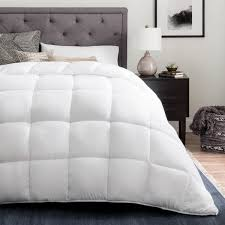 Duvet Vs Down Comforter Brookside Down Alternative Reversible Quilted Comforter With