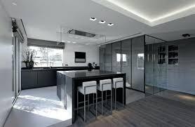 deco cuisine noir et gris cuisine noir et grise idées décoration intérieure
