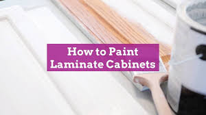 can white laminate cabinets be painted how to paint laminate cabinets