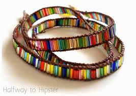 make wrap bracelet images Halfway to hipster diy wrap bracelet jpg