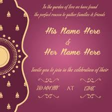 wedding invitations maker online wedding invitation maker purplemoon co